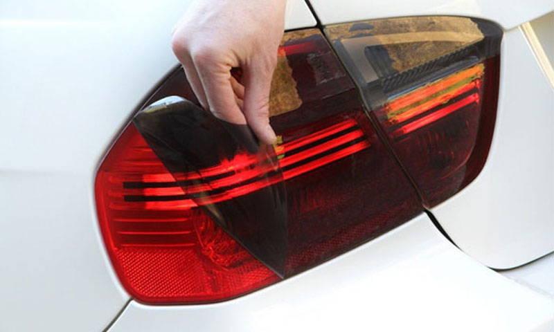 Gunsmoke Lamin-x tail light film covers
