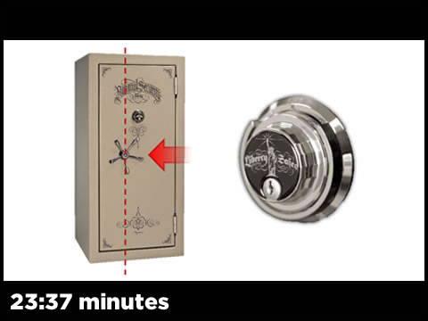 Mechanical Lock Offset Handle With Keyed Lock