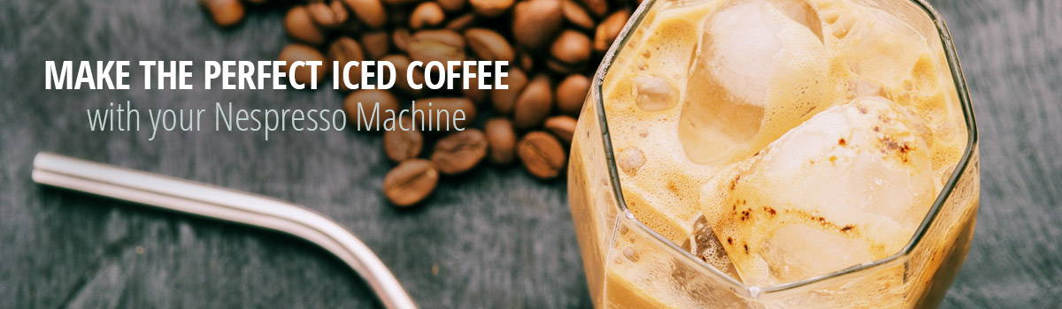 iced coffee for nespresso machines