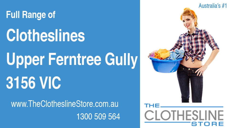 New Clotheslines in Upper Ferntree Gully Victoria 3156