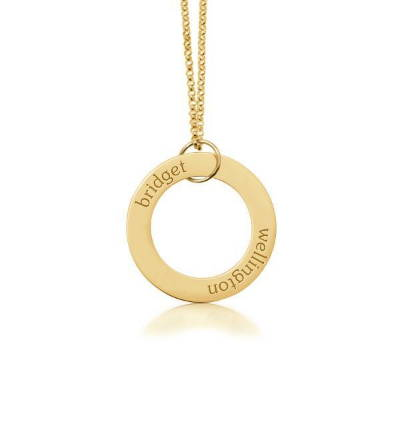 14k gold necklace for mom.