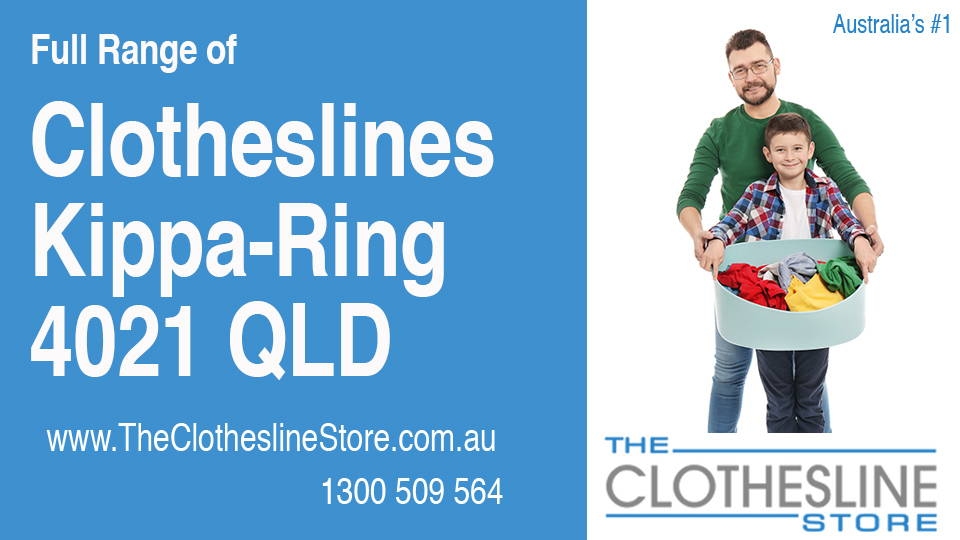 New Clotheslines in Kippa-Ring Queensland 4021