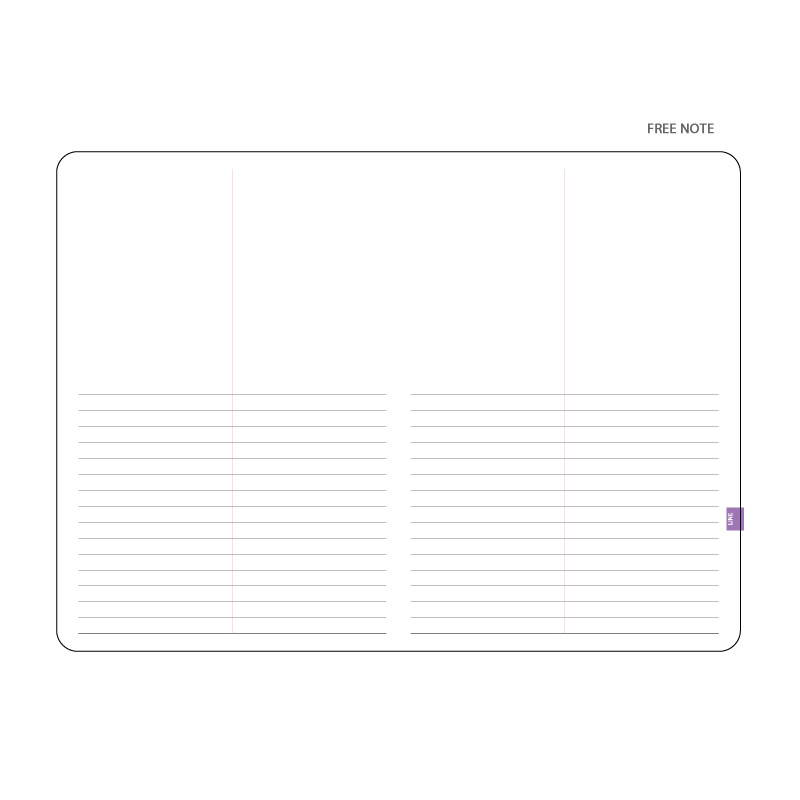 Free note - ICIEL 2020 in everyday matters large dated weekly planner