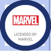 Licensed by Marvel