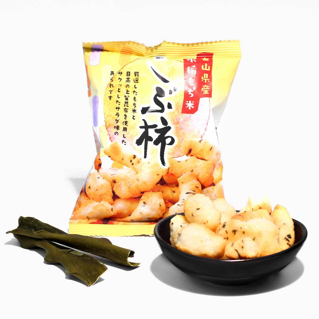 Kakimochi Mochi Rice Crackers: Kobukaki