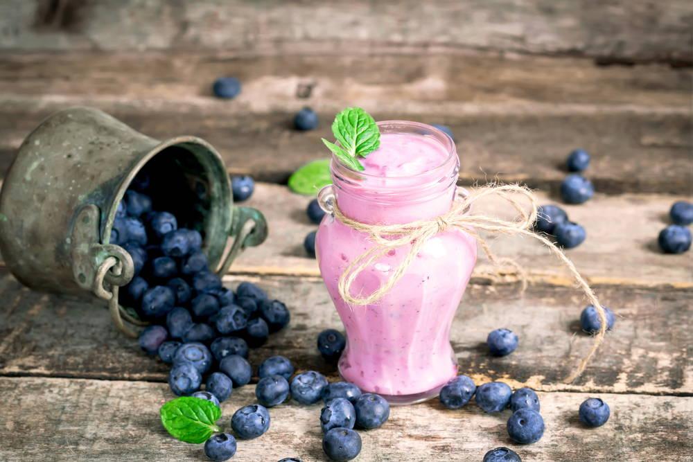 keto protein strawberry smoothie