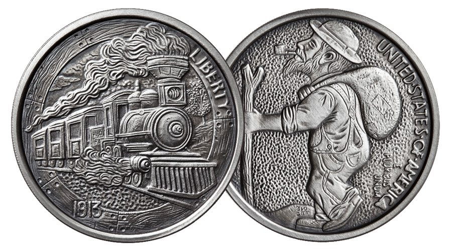 Silver Hobo Nickels – Tagged