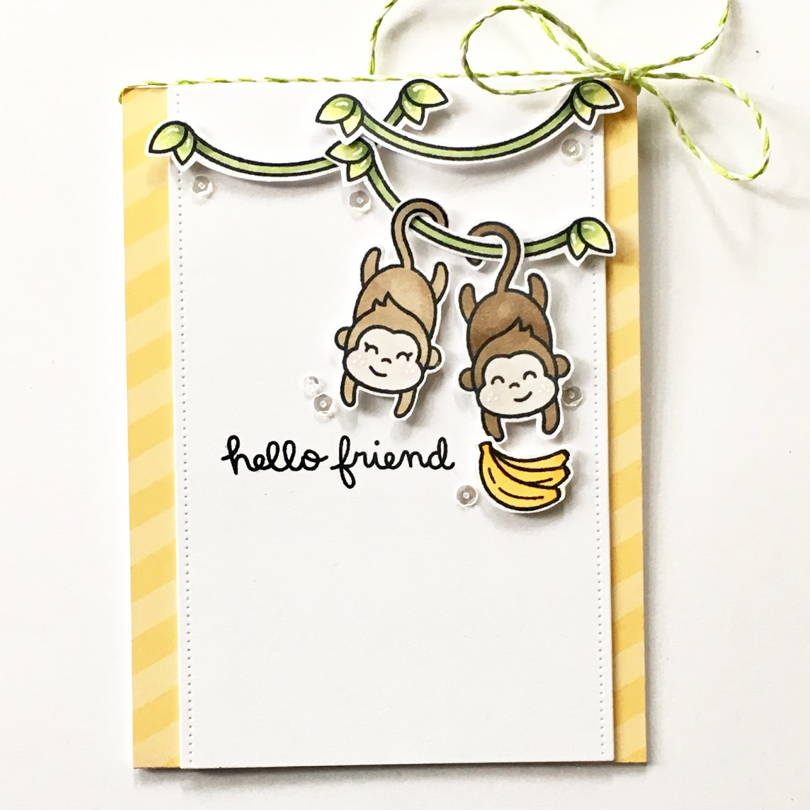 Love Ya' Bunches card by Heather Campbell