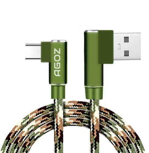 Camo 90 Degree Cable USB C Charger for CAT S62 Pro, S61, S52, S48c