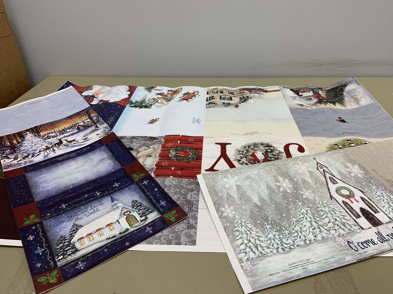 press sheets christmas product