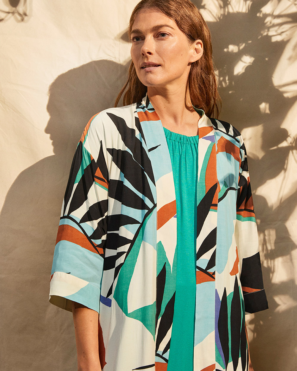 Josslyn Kimono - Editorial Image On-Model
