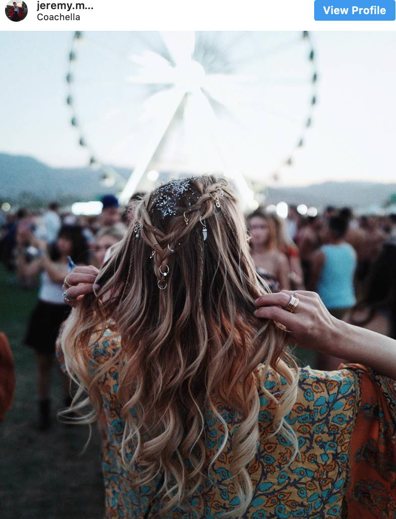 The best hairstyle for hair rings