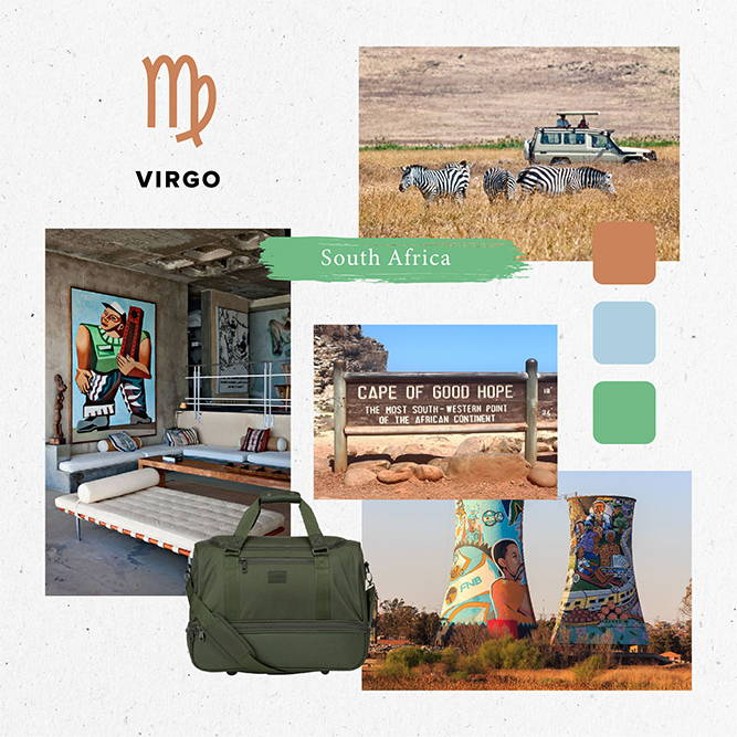 Horoscope, 2020, Travel, virgo, south africa, stevyn, duffel bag