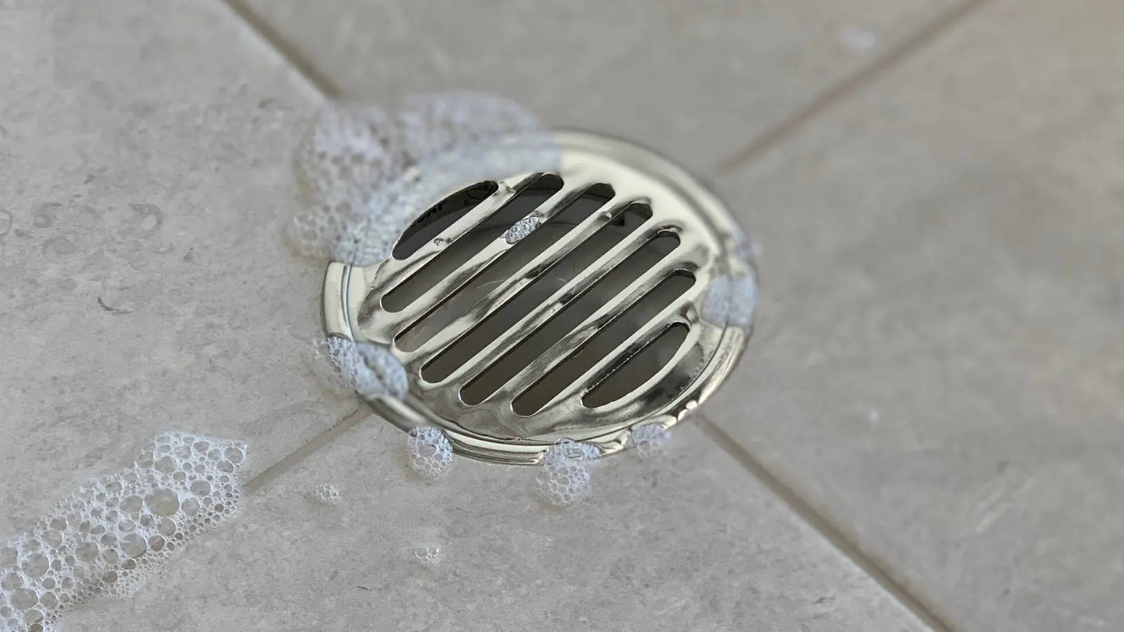 Round Shower Drain grates and floor wastes grates used typically for bathrooms and laundry
