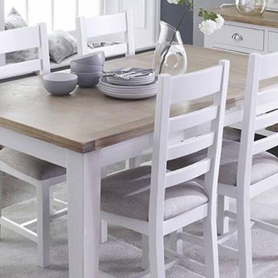 White & Oak Painted Furniture In Norwich