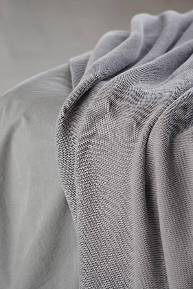Baumwolldecke Decke Blau