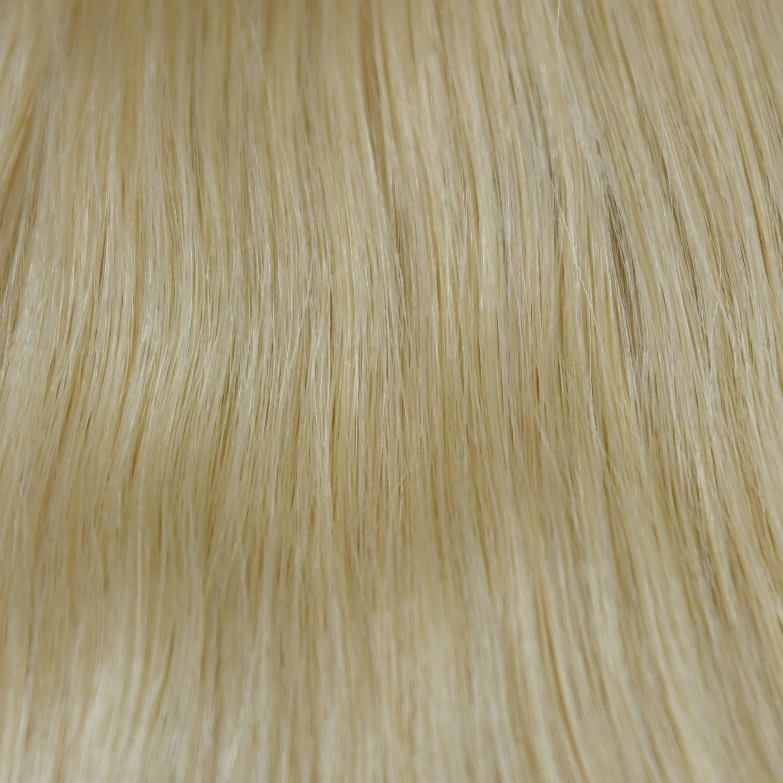 light golden Blonde hair help to choose hair extensions color in hair color chart