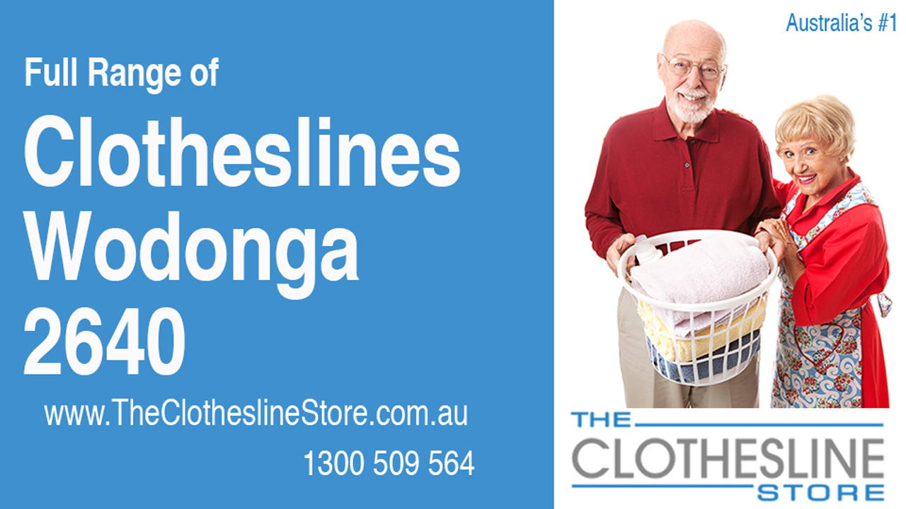 New Clotheslines in Wodonga 2640