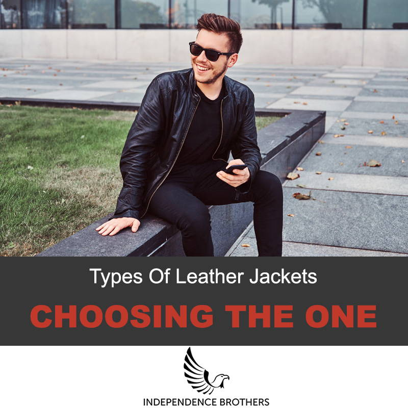 Most popular types of leather jackets