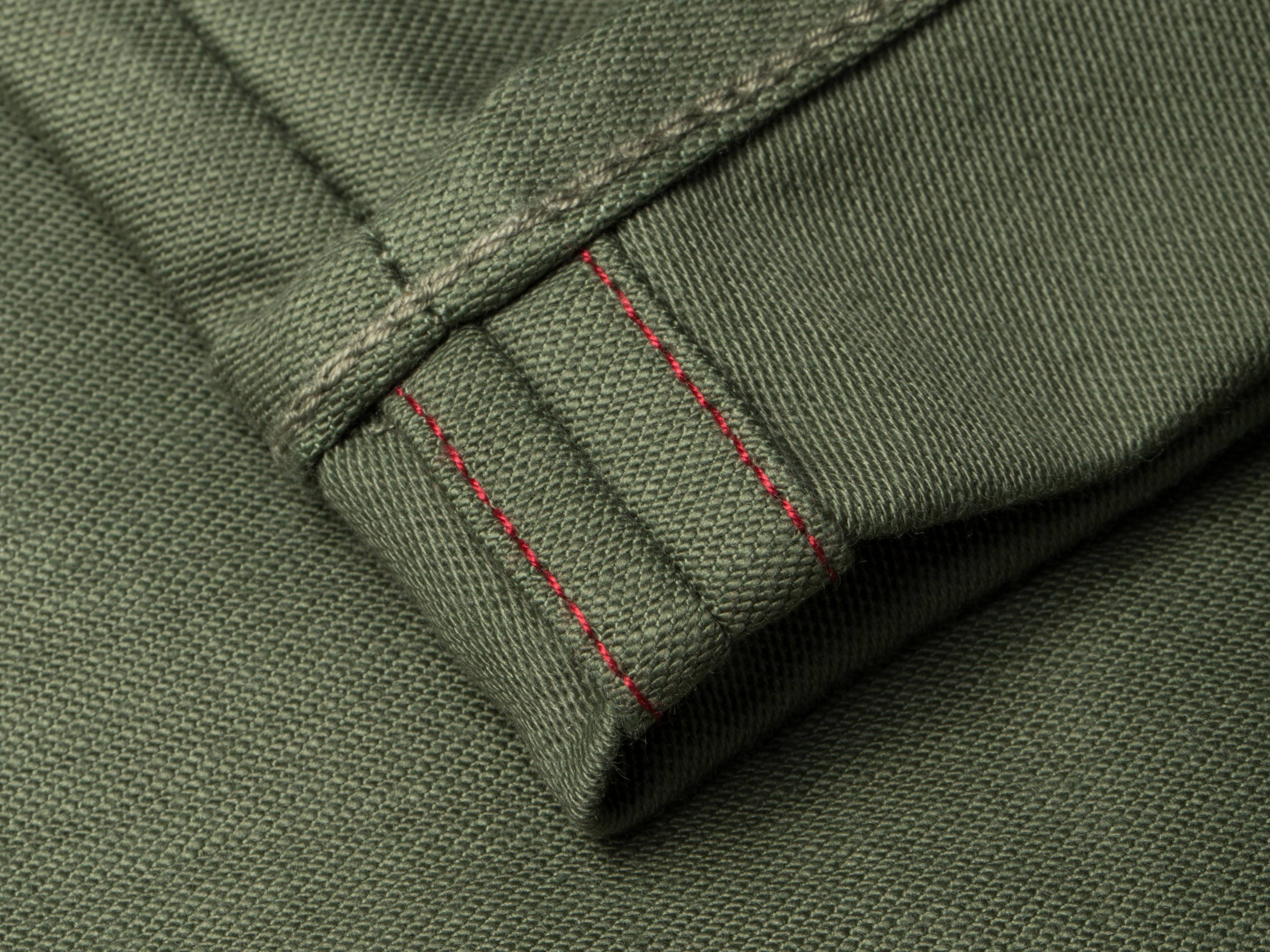 BENZAK | AW20 chino army green military  twill Japan  vintage style