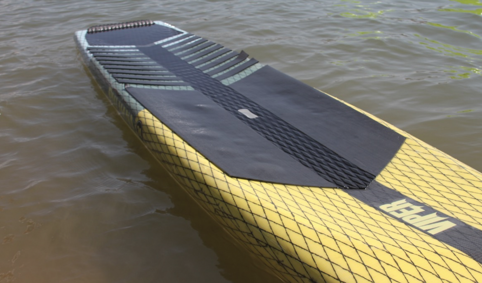 Viper pau hana paddle board on the water