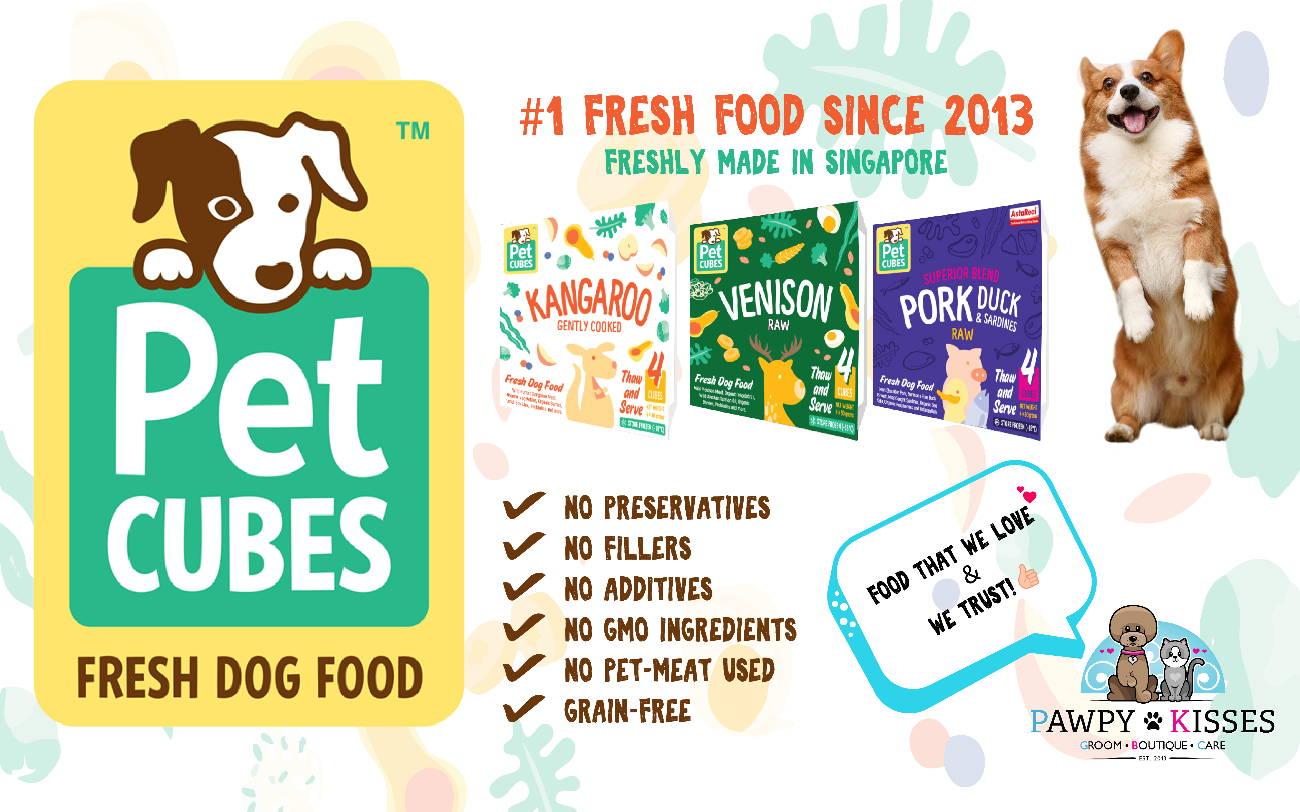 Pet Cubes Fresh Dog Food Collection