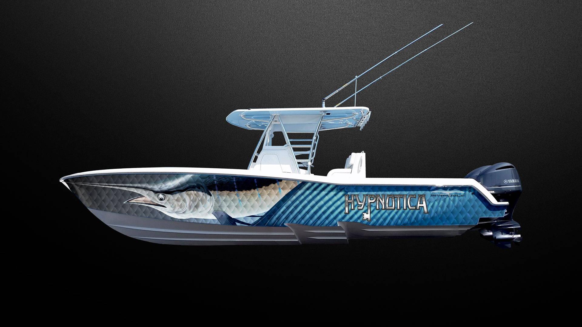 boat name briny custom