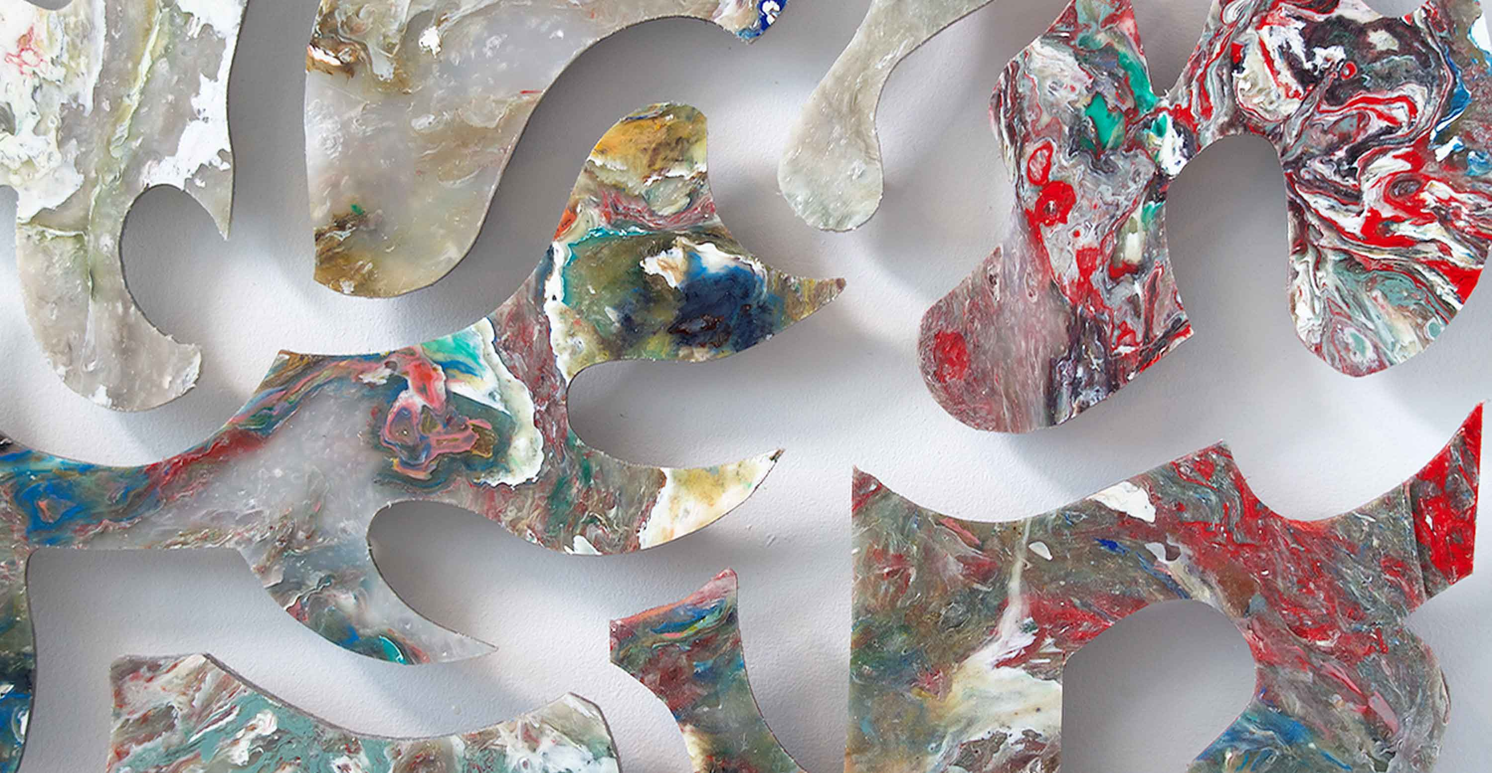 Detail of PECO artpiece called Composition#1