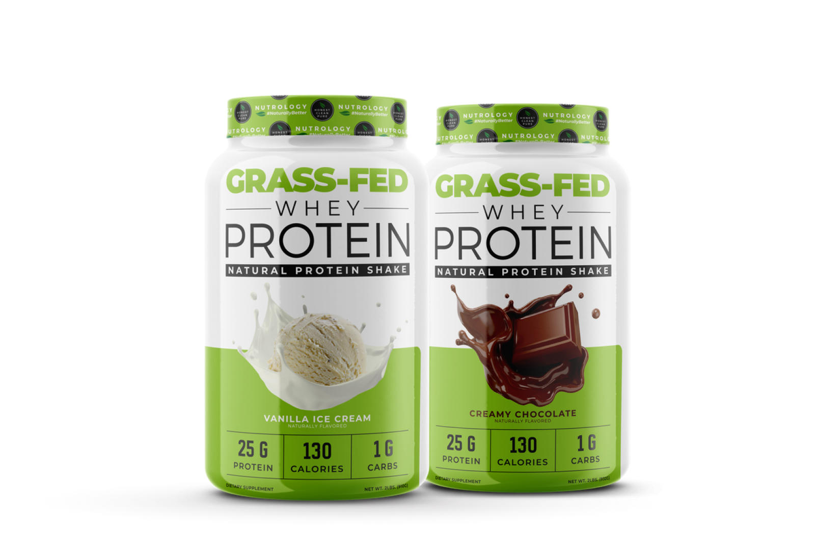Nutrology Grass Fed Whey Proteins