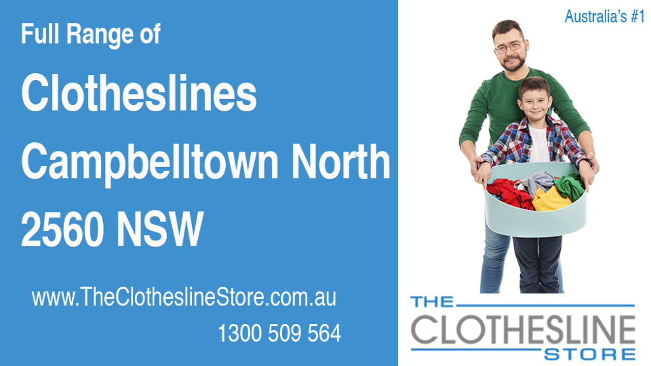 New Clotheslines in Campbelltown North 2560 NSW