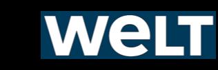 WELT Logo HALM Glas Strohhalme online