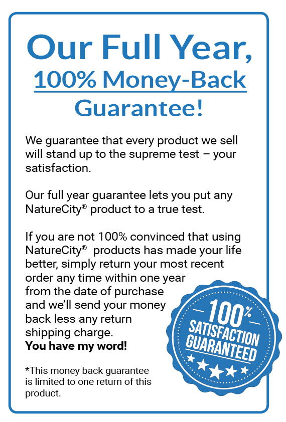 NatureCity guarantee