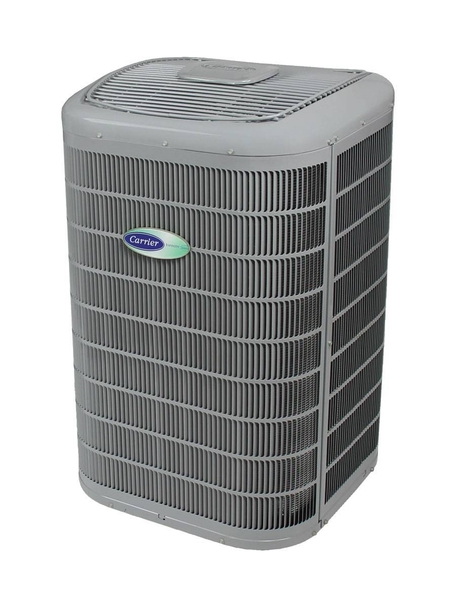 Picture of a carrier heat pump model 19vs