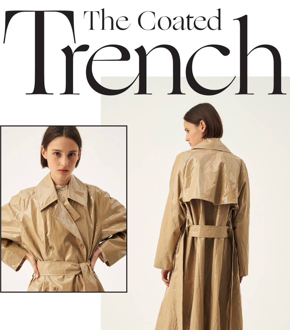 Oroton Coated Trench