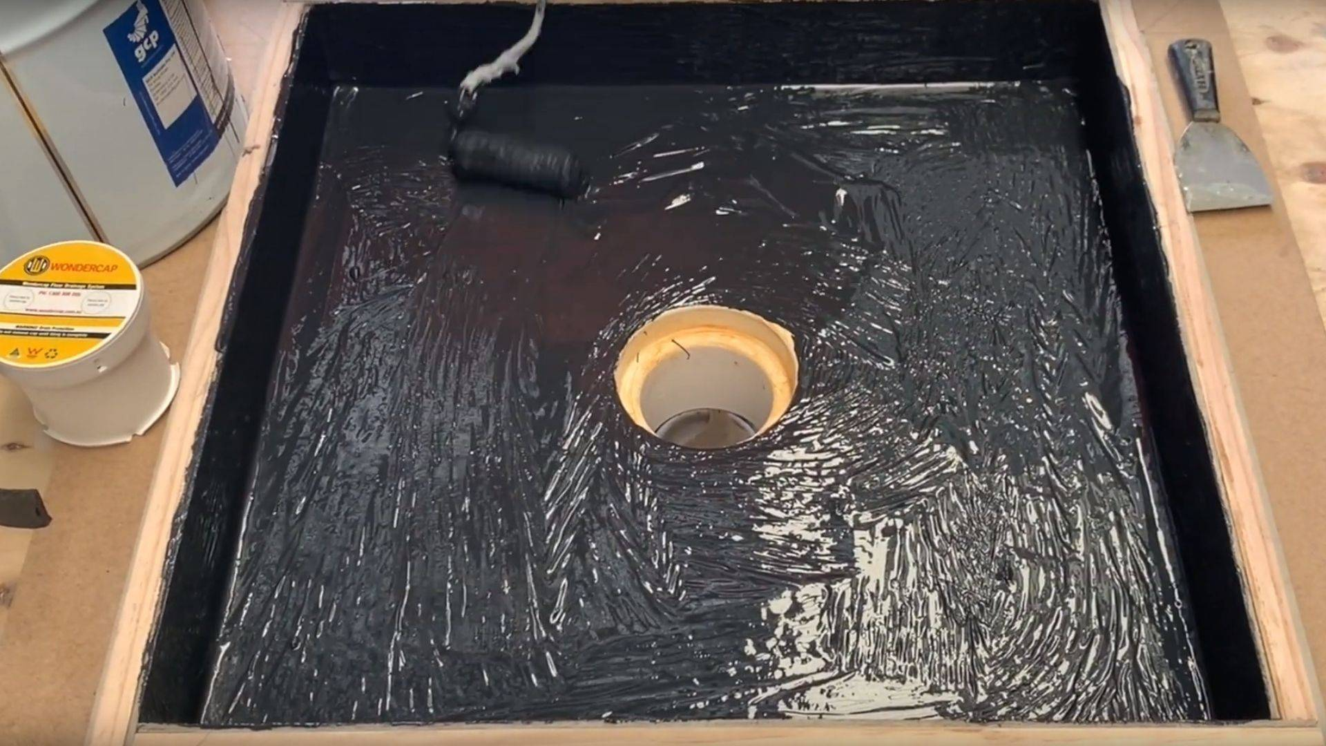 Learn how to waterproof your floor waste properly using the Wondercap puddle flange and shower drain system