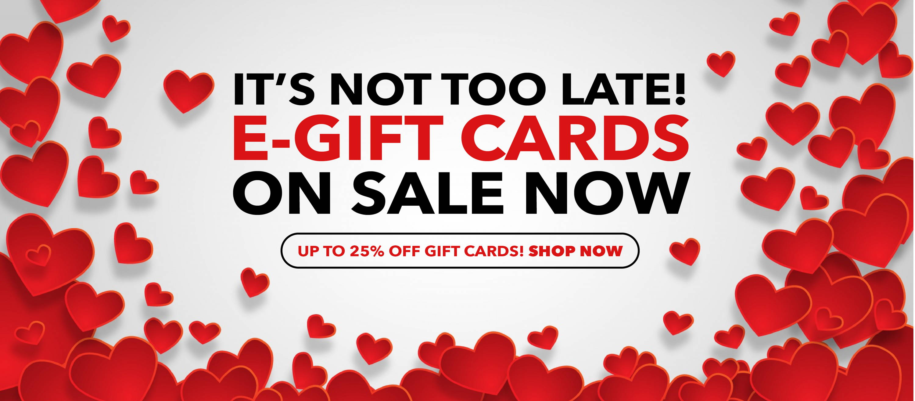 Valentines E-Gift Cards