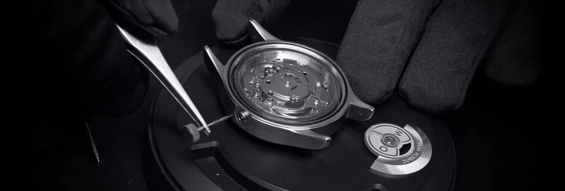 Ollech-and-Wajs-OW-Zurich-1956-Swiss watches