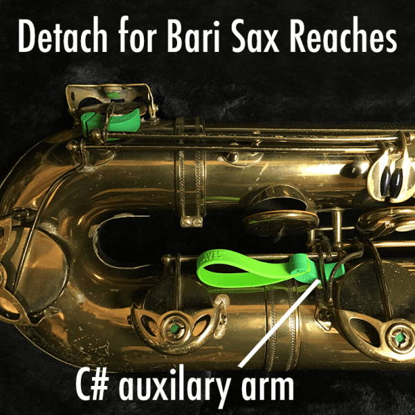 Key Leaves can cure sticking bari sax pads by leaving open G#, Eb and C# pads to air dry after you play.
