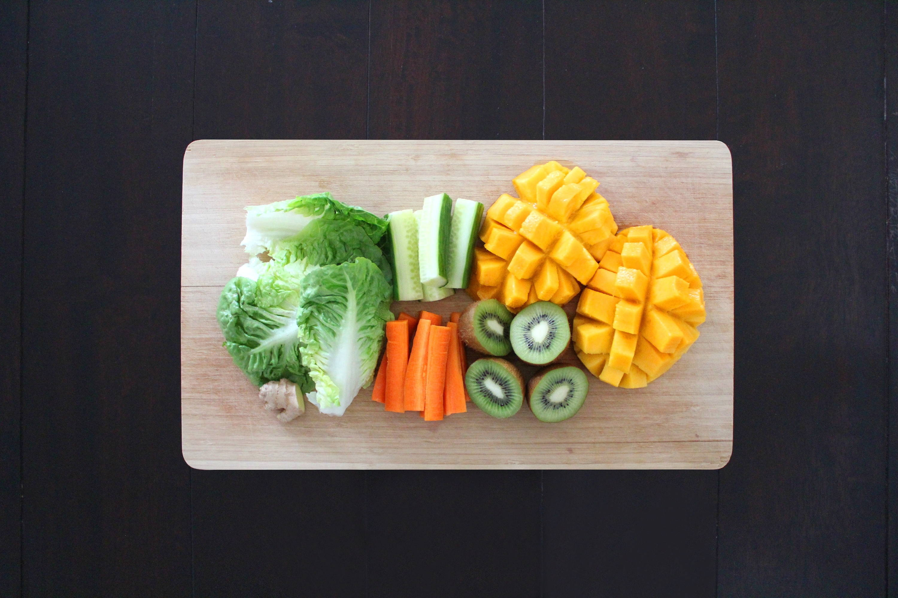 stay cool with fruits & veggies