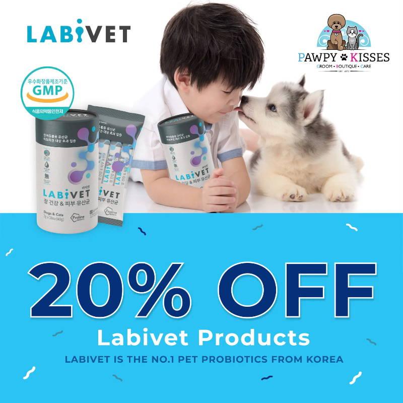 Labivet exclusive promotion online pet shop singapore pawpy kisses.