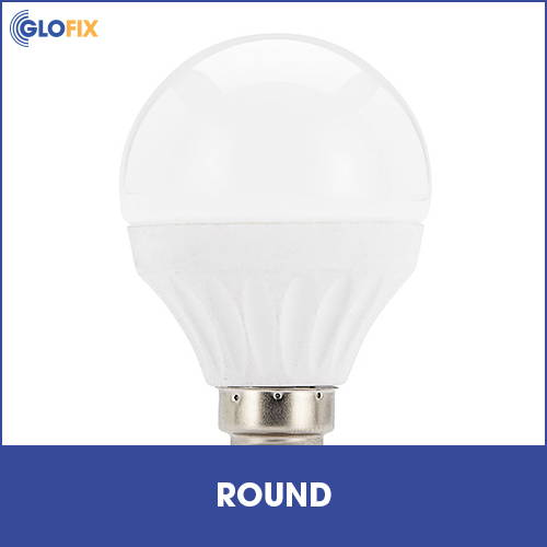 Collection of round light bulbs at GloFix