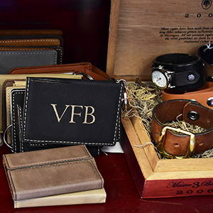 Leather wallet gifts for him