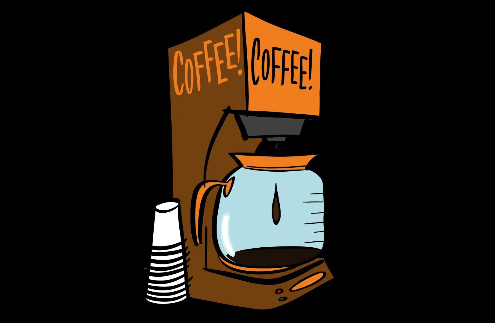 Illustrated coffee