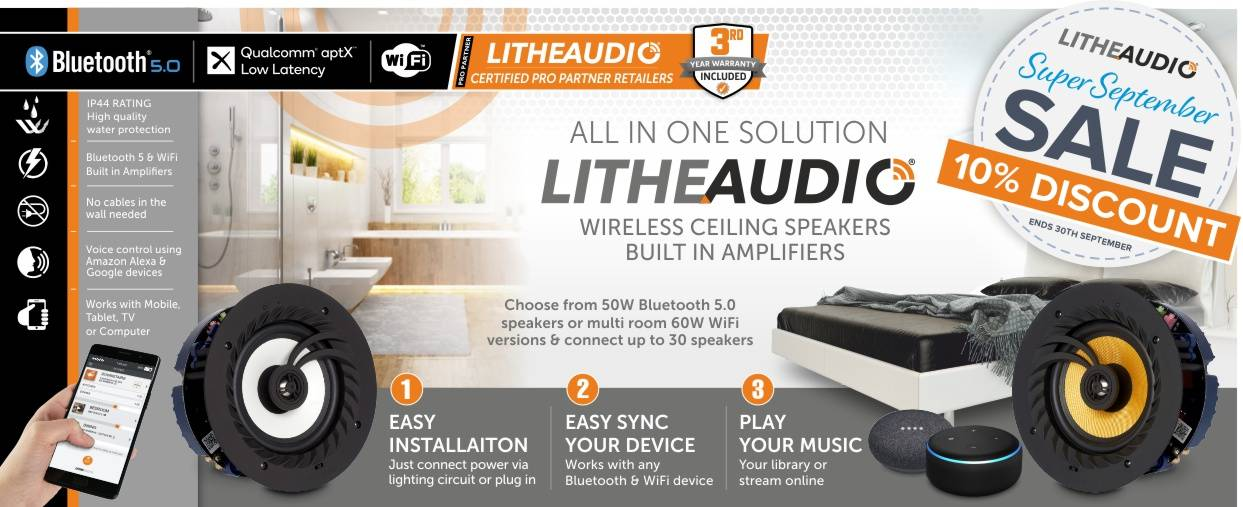 Lithe Audio 10% Discount at Audio Volt in the month of September
