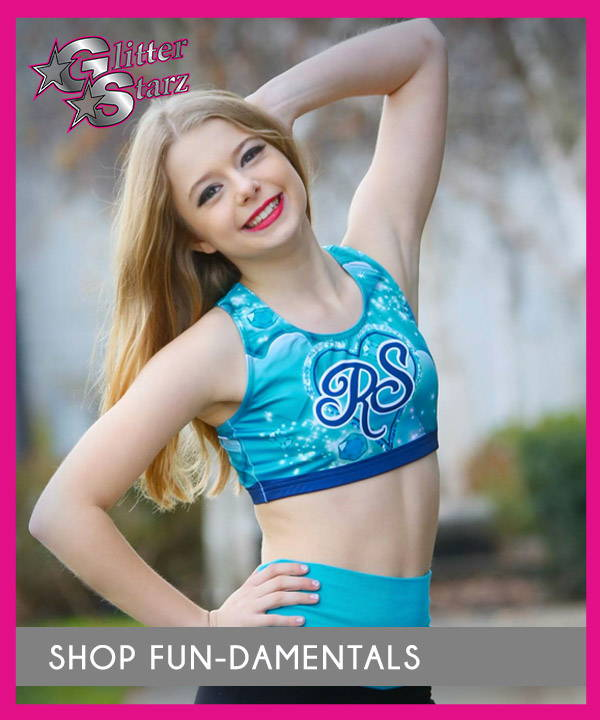 glitterstarz dyesub practicewear worlds summit teal sparkle bra