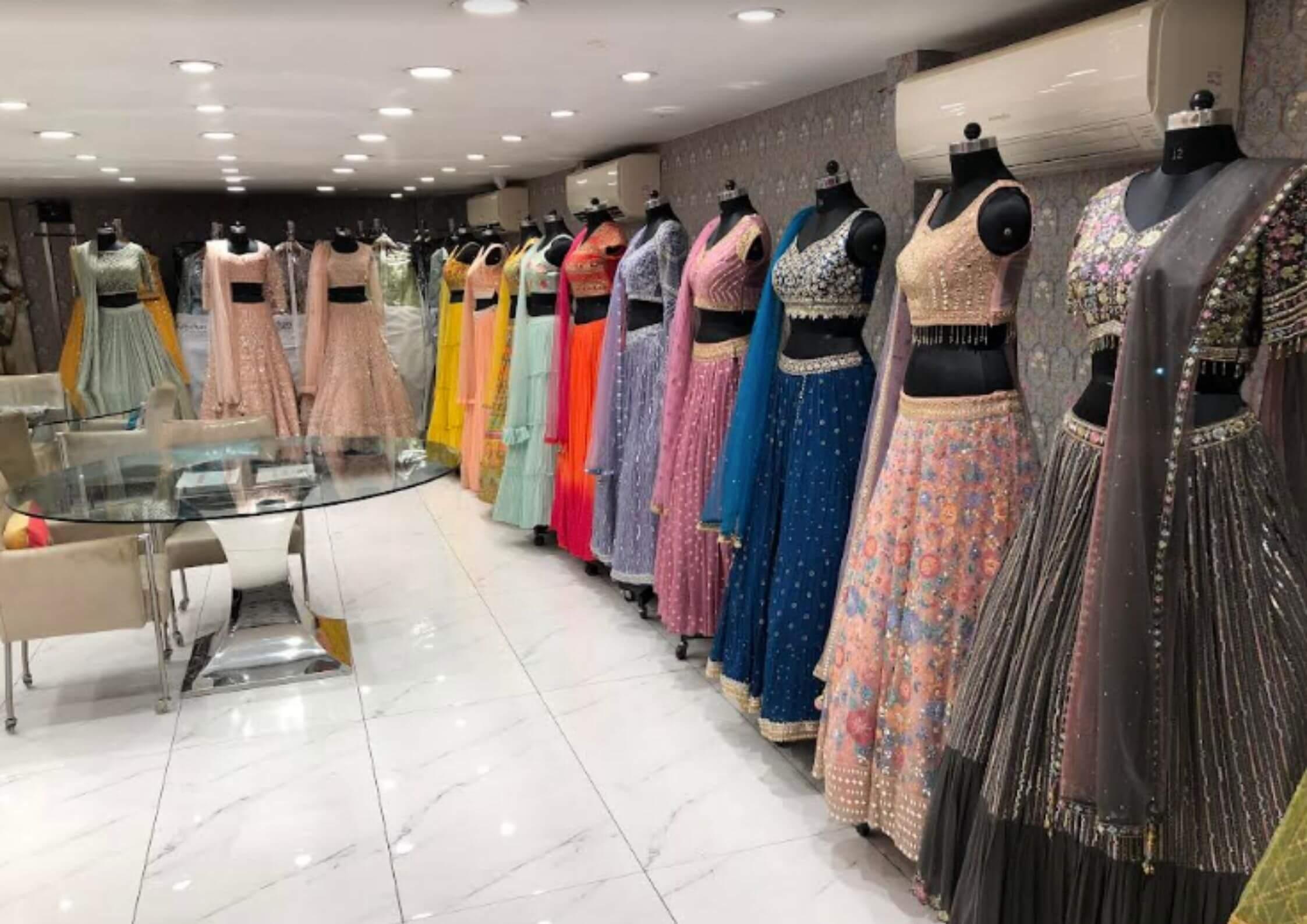 ethnic wear for women in chandni chowk - kanchan fashion