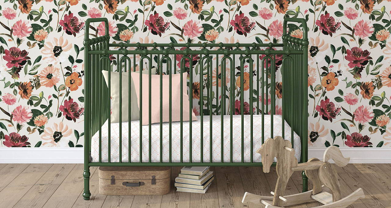 Classic quality crib bedding made in the USA