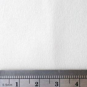 Silk Satin Fabric Blank Square Image with ruler for scale
