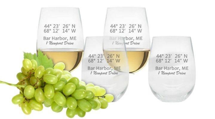 Stemless Wine Glasses, Unbreakable Acrylic Drinkware