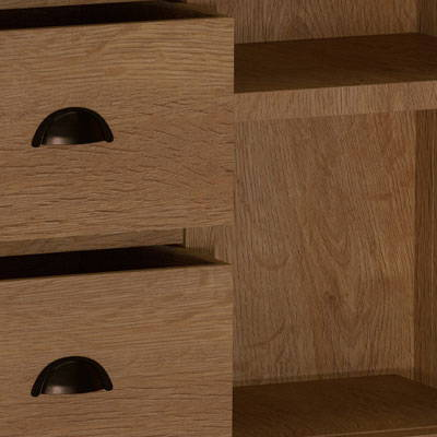 The Pershore Oak Dining Collection